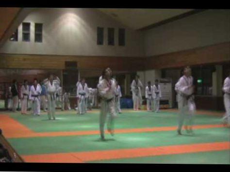 Team-M Taekwondo: Training in KOREA