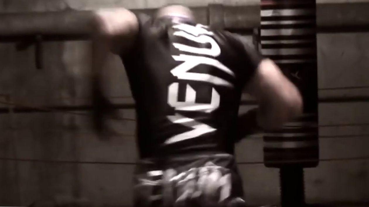 Тренировка монстра - Training MMA
