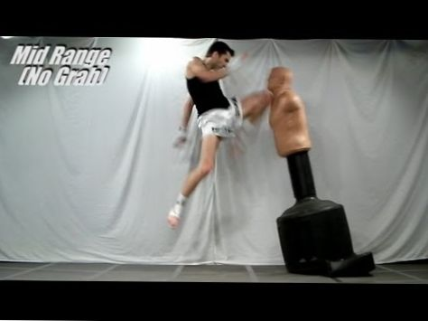 Flying Front Knee Strikes Tutorial (Rear Leg) | Kickboxing MMA Taekwondo