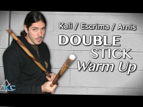 DOUBLE STICK ESCRIMA DRILLS – Beginner Eskrima Arnis Kalii