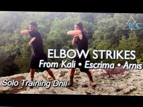 ELBOW STRIKE TECHNIQUES of Filipino Martial Arts: Kali, Escrima, Arnis