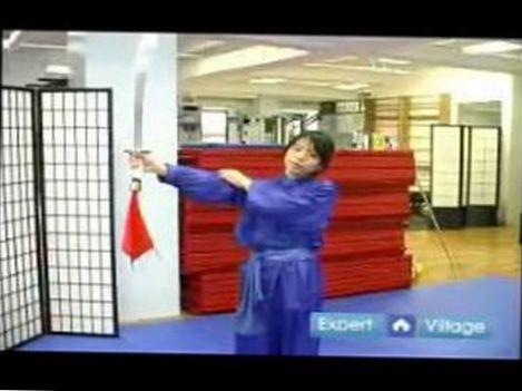 Advanced Wushu Techniques : The Broadsword Flower Wushu Move