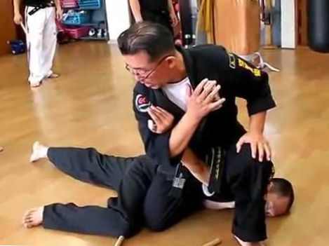 (61)Real Fight Baton training(Yeomtasul,Hapkido)