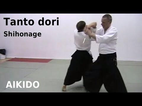 Aikido knife defense – iriminage