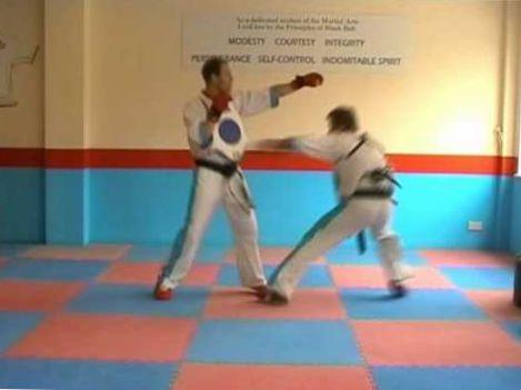 Martial Arts Training Tips : Sparring Skills Lesson : www.MartialArtsTraining.TV