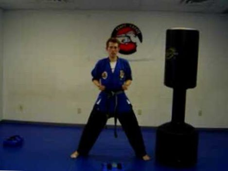 karate for beginners lesson 1