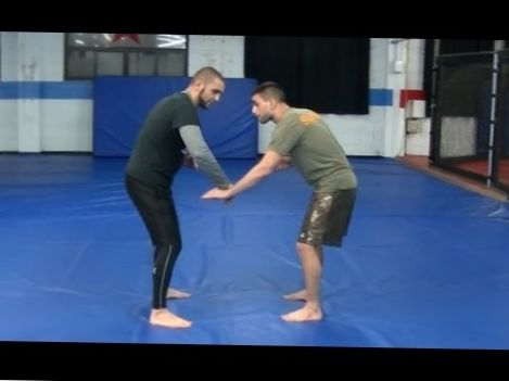 Simple and effective takedown for BJJ Fighters – Coach Firas Zahabi