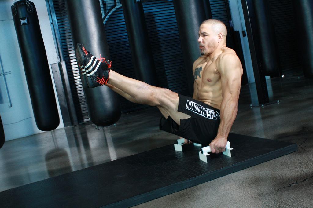 Тренировка монстра – Training MMA