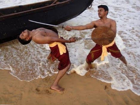 kalaripayattu training documentary-kalaripayattu fight techniques-Varma Kalai-kalari basic exercis