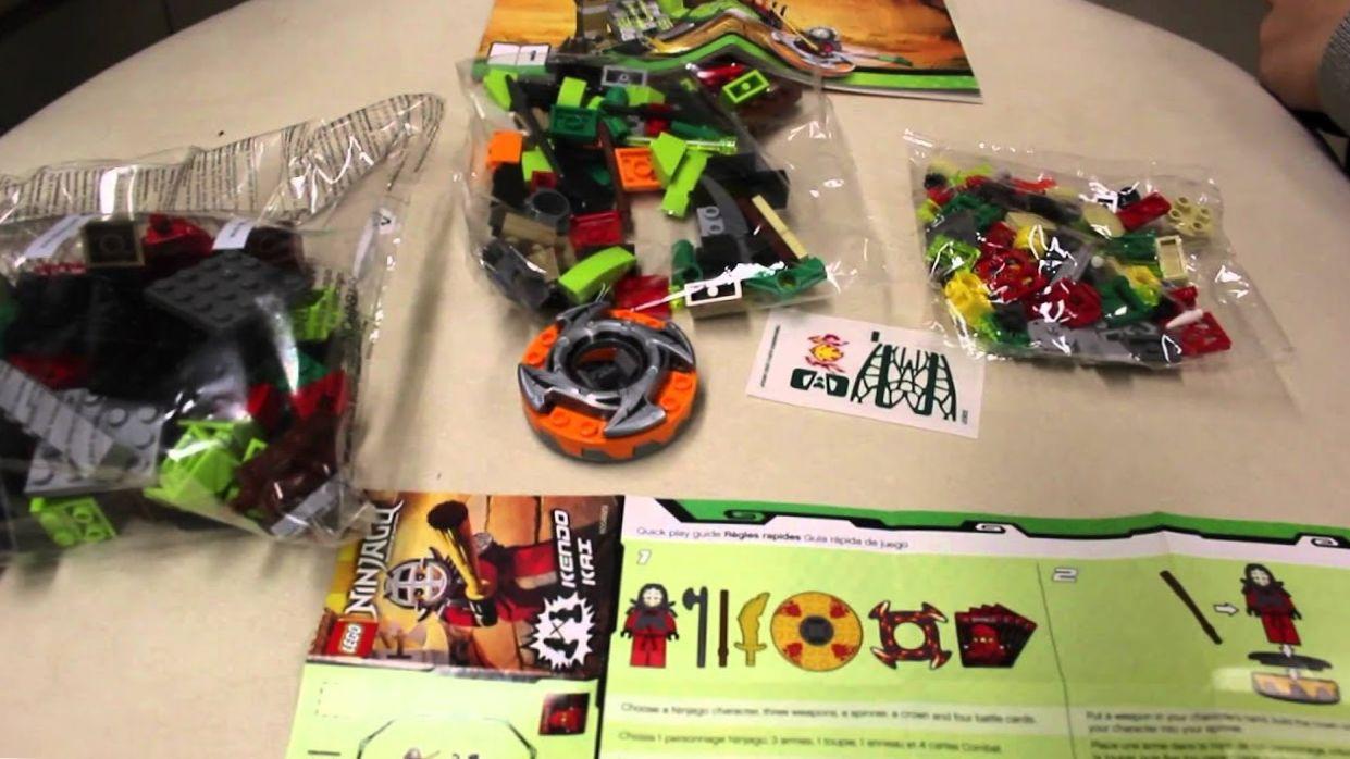 LEGO Ninjago Kendo Kai Trainning Set UNBOXING!