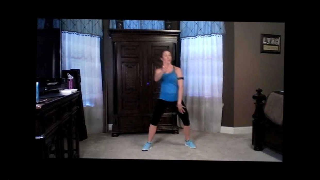 30 minute kickboxing workout by Adrienne White