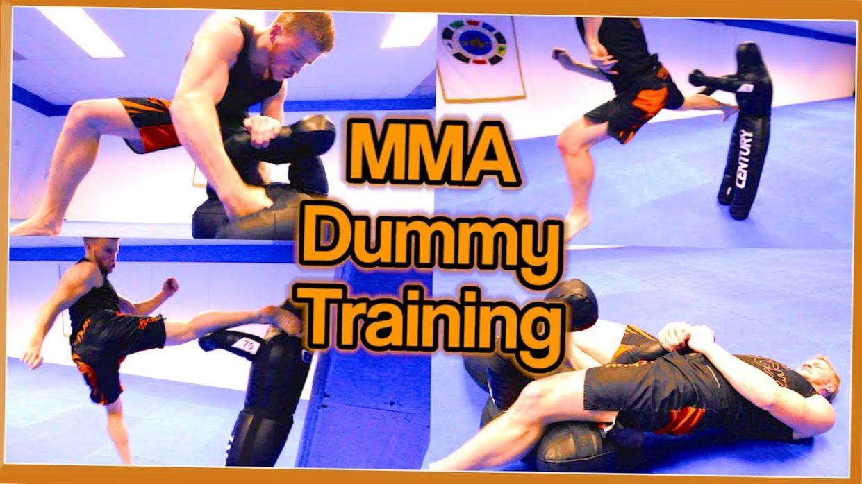 MMA & Taekwondo Training on Century Dummy | Ginger Ninja Trickster
