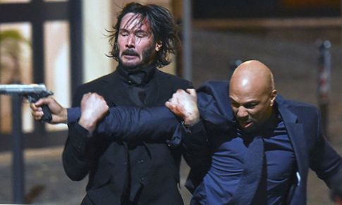 Keanu Reeves Learns Jiu-Jitsu and Judo for 'John Wick' (HD)
