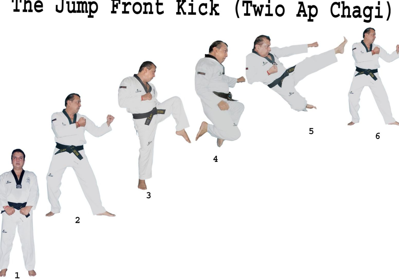 How to Do a Jump Front Kick | Taekwondo Training