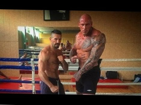 Martyn Ford Training For Boyka: Undisputed IV | Workout Motivation & Transformation