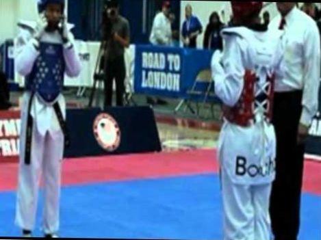 2012 us olympic Taekwondo team trials
