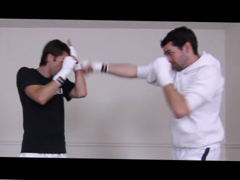 How to Block Jab & Straight Punches Tutorial – Bare Fists or MMA Gloves