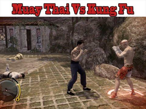 """Muay Thai vs Kung Fu – Knockouts – มวยไทย """"แสนชัย"""" vs กังฟู"""
