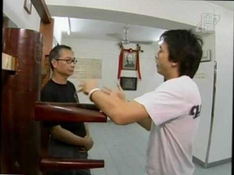 15 year old Girl with very good Wing Chun. Choreographed demo. Very Fast!