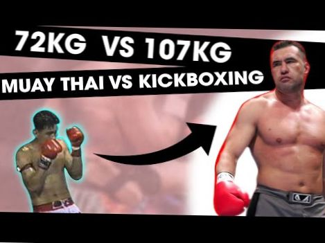 72KG Muay Thai Legend vs. 107 KG Kickboxing Legend | RIP Nokweed Davy